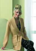 Stylecraft Ladies Jacket Luxury Wool Rich Knitting Pattern 8553  DK