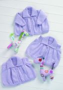Stylecraft Baby Cardigans & Waistcoat Wondersoft Knitting Pattern 8573  DK
