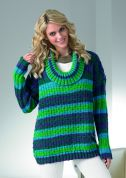 Stylecraft Ladies Sweater Vision Knitting Pattern 8593  DK