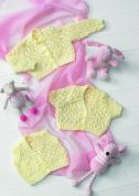 Stylecraft Baby Cardigans & Waistcoat Wondersoft Knitting Pattern 8604  DK