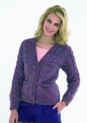 Stylecraft Ladies Cardigan Trendsetter Knitting Pattern 8640  Chunky
