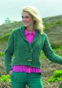 Stylecraft Ladies Jacket Astrakhan Knitting Pattern 8648  Super Chunky