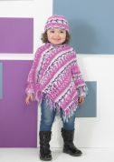 Stylecraft Childrens Poncho & Hat Wondersoft Knitting Pattern 8749  DK