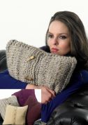 Stylecraft Home Cushions Knitting Pattern 8756  DK, Chunky, Super Chunky
