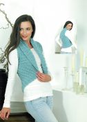 Stylecraft Ladies Waistcoat Weekender Knitting Pattern 8780  Super Chunky