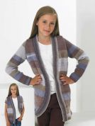 Stylecraft Childrens Cardigan Vision Knitting Pattern 8788  DK