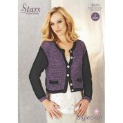 Stylecraft Ladies Cardigan Knitting Pattern 8943  DK