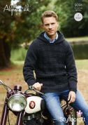 Stylecraft Mens Sweater & Hoodie Alpaca Knitting Pattern 9094  DK