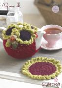 Stylecraft Home Tea Cosy & Tea Pot Mat Crochet Pattern 9099  DK