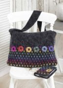 Stylecraft Ladies Messenger Bag & Notebook Cover Crochet Pattern 9125  Lace