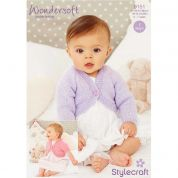 Stylecraft Baby Boleros Wondersoft Knitting Pattern 9151  DK