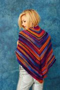 Stylecraft Ladies Shawl & Scarf Cabaret Knitting Pattern 9187  DK