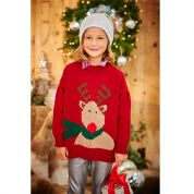 Stylecraft Childrens Christmas Sweaters Special Knitting Pattern 9204  DK