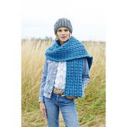 Stylecraft Ladies Scarf, Snood & Hats Special Knitting Pattern 9223  Super Chunky