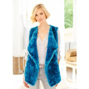 Stylecraft Ladies Waterfall Waistcoat Eskimo Knitting Pattern 9229  DK