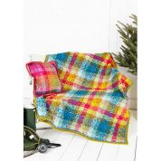 Stylecraft Home Blanket & Cushion Cover Special Crochet Pattern 9255  DK