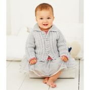 Stylecraft Baby Jackets Wondersoft Knitting Pattern 9273  DK