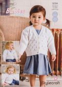 Stylecraft Baby & Childrens Cardigans Special Knitting Pattern 9284  DK