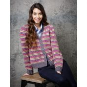 Stylecraft Ladies Cardigan & Sweater Batik Knitting Pattern 9290  DK