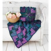 Stylecraft Home Cushion & Blanket Special & Carnival Knitting Pattern 9306  Aran, Chunky