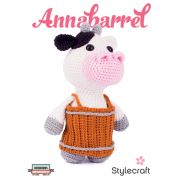 Stylecraft Annabarrel Cuddly Toy Classique Cotton Crochet Pattern 9330  DK