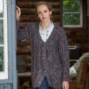 Stylecraft Ladies Cardigan & Waistcoat Swift Knit Tweed Knitting Pattern 9333  Super Chunky