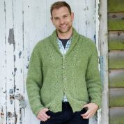 Stylecraft Mens Sweater & Cardigan Alpaca Tweed Knitting Pattern 9339  DK