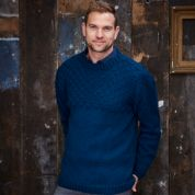 Stylecraft Mens Sweater & Cardigan Special With Wool Knitting Pattern 9342  Aran