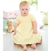 Stylecraft Baby Dresses Special for Babies Knitting Pattern 9343  4 Ply