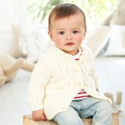 Stylecraft Baby Cardigans Special for Babies Knitting Pattern 9344  Aran