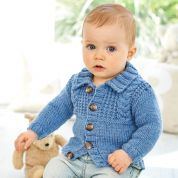 Stylecraft Baby Cardigans Special for Babies Knitting Pattern 9345  Aran