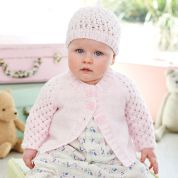 Stylecraft Baby Cardigans & Hat Special for Babies Knitting Pattern 9346  DK
