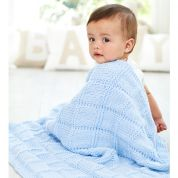 Stylecraft Baby Blankets Special for Babies Knitting Pattern 9348  Chunky