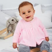 Stylecraft Baby Coats Wondersoft Knitting Pattern 9388  4 Ply