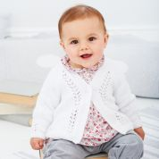 Stylecraft Baby Cardigans Wondersoft Knitting Pattern 9389  4 Ply