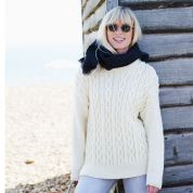 Stylecraft Ladies Sweaters Life Knitting Pattern 9440  Aran