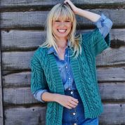 Stylecraft Ladies Cardigan & Waistcoat Life Knitting Pattern 9442  Aran
