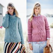 8878bab4f94d06 Stylecraft Ladies Sweaters Weekender Knitting Pattern 9472 Super Chunky