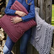 Stylecraft Home Blanket & Cushion Weekender Knitting Pattern 9475  Super Chunky