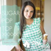 Sew Caroline Ladies Easy Sewing Pattern Sugar Pop Top