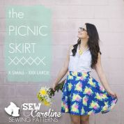 Sew Caroline Ladies Easy Sewing Pattern The Picnic