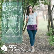 Sew Caroline Ladies Easy Sewing Pattern Downtown Tunic