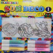 Amos Glass Deco Suncatcher Stained Glass Kit 3 Designs
