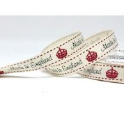 Bertie's Bows Made In England Ribbon