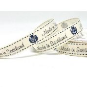 Bertie's Bows Made In Scotland Ribbon