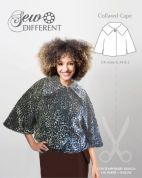 Sew Different Sewing Pattern Collared Cape