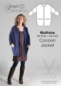 Sew Different Ladies Sewing Pattern Cocoon Jacket