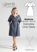 Sew Different Ladies Sewing Pattern Everyday Chic Dress