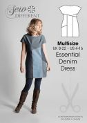 Sew Different Ladies Sewing Pattern Essential Denim Dress