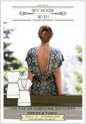 Sew House Seven Ladies Easy Sewing Pattern Bridgetown Backless Dress & Tunic